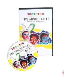 snazaroo five minute faces dvd