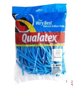 qualatex pale blue 260Q modelling balloons